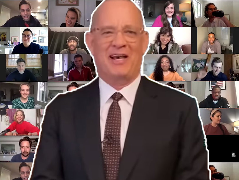 Saturday Night Live — s45e16 — SNL at Home: Tom Hanks / Chris Martin