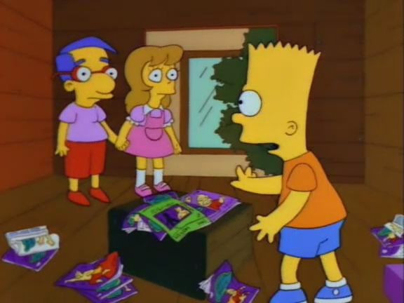 Симпсоны — s03e23 — Bart's Friend Falls in Love