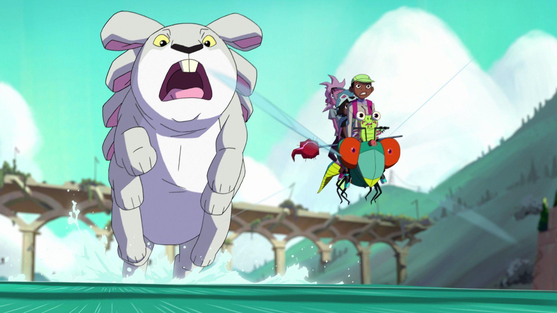 Кипо и эра чудесных зверей — s01e02 — Explosion Berries