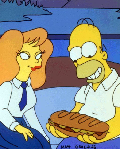 The Simpsons — s05e09 — The Last Temptation of Homer