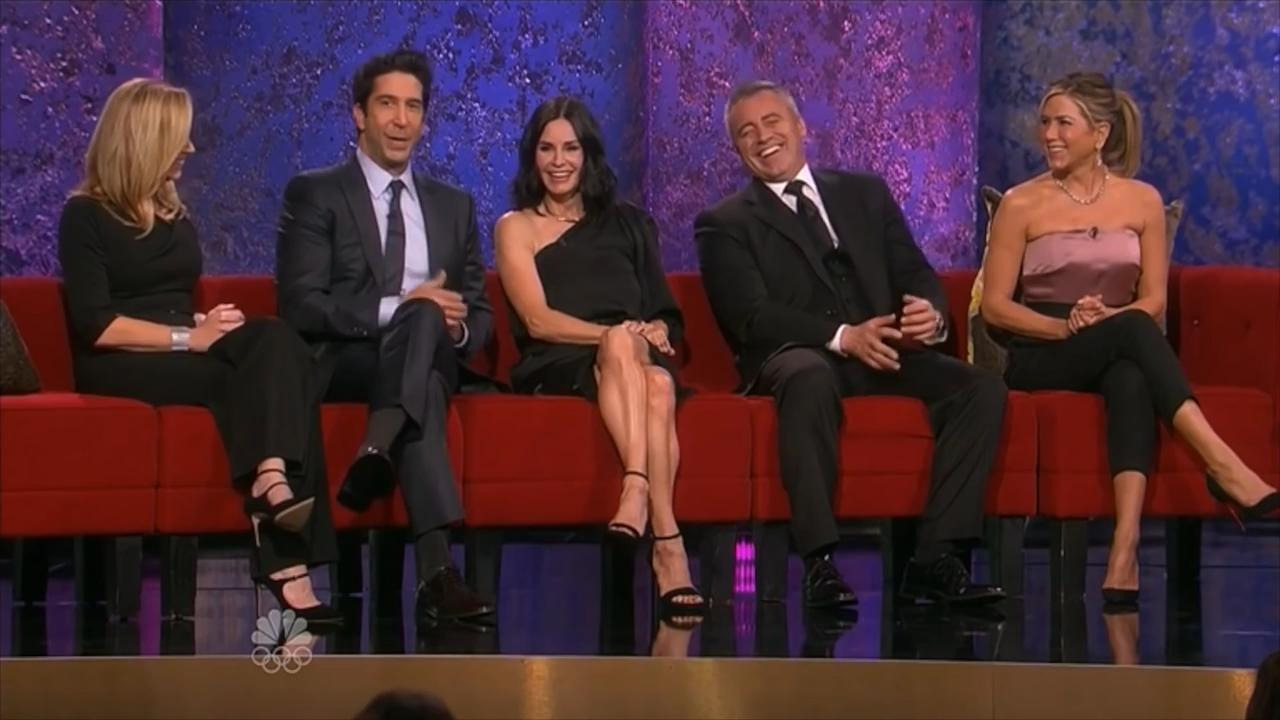 Друзья — s10 special-3 — FRIENDS REUNION - Tribute To Director James Burrows