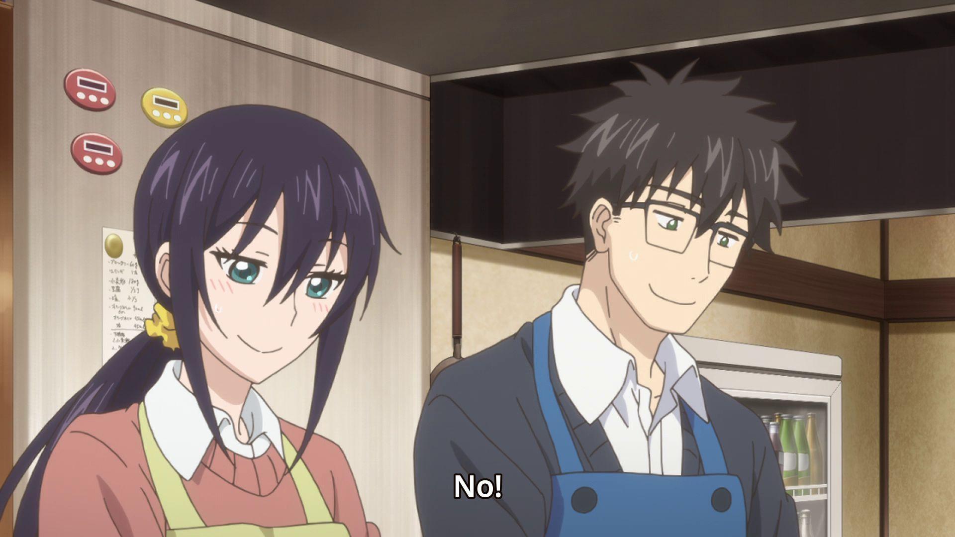 Дуэт и вспышка молнии — s01e12 — Okonomiyaki Filled with Affection