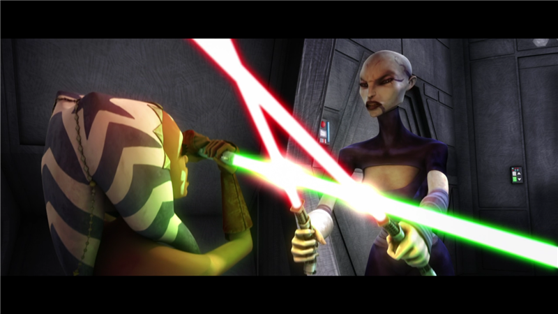 Star Wars: The Clone Wars — s01e09 — Cloak of Darkness