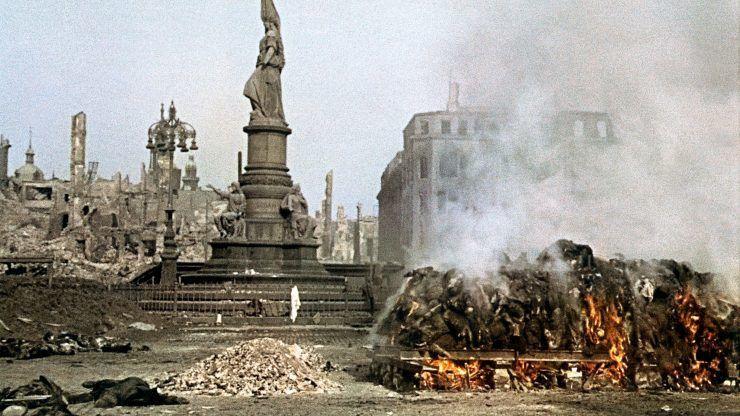 Величайшие события Второй мировой войны — s01e08 — Dresden Firestorm