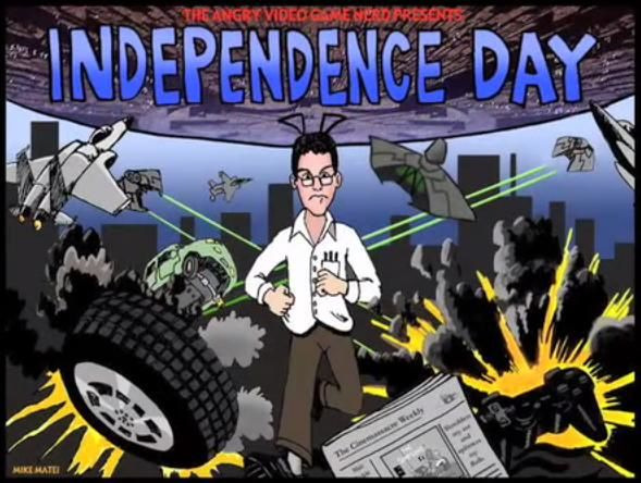 The Angry Video Game Nerd — s02e12 — Independence Day