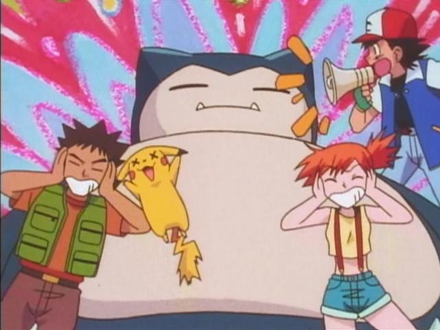Покемон — s01e39 — Wake Up Snorlax!