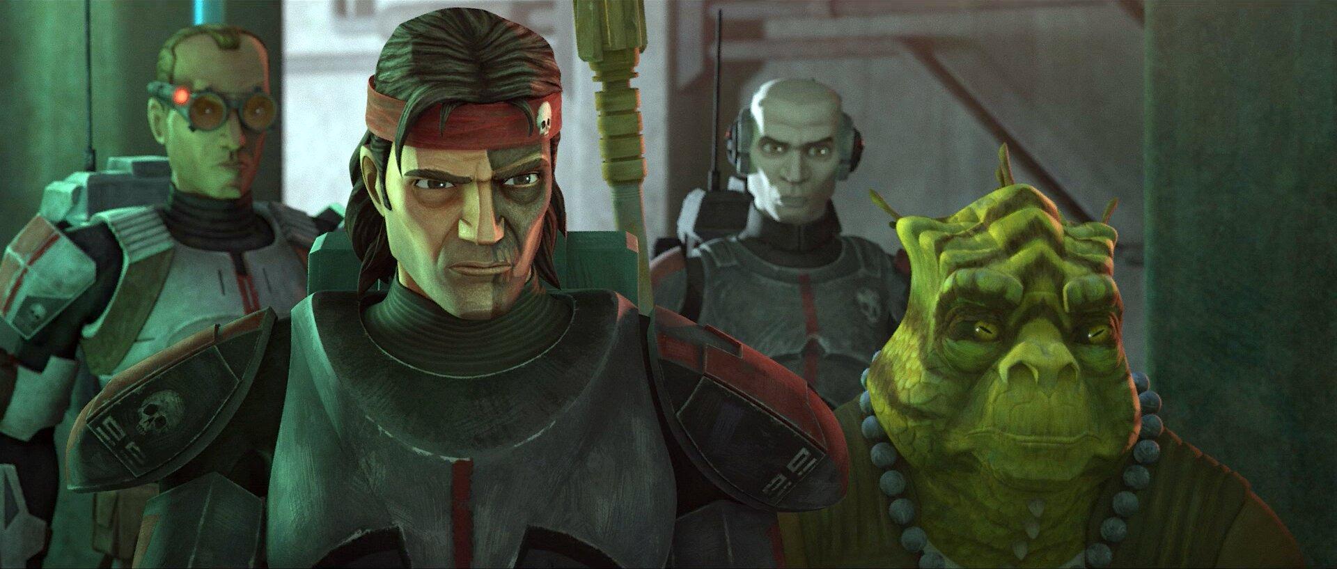 Звёздные войны: Бракованная партия — s01e07 — Battle Scars