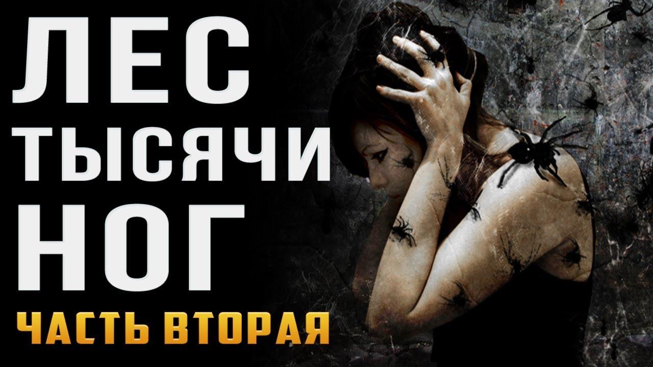 Саша Бодряк — s03e00 — Страшные истории наночь. Лес тысячиног. Жуткий лес спауками. Creepypasta.