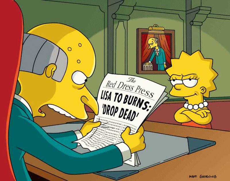 The Simpsons — s15e22 — Fraudcast News