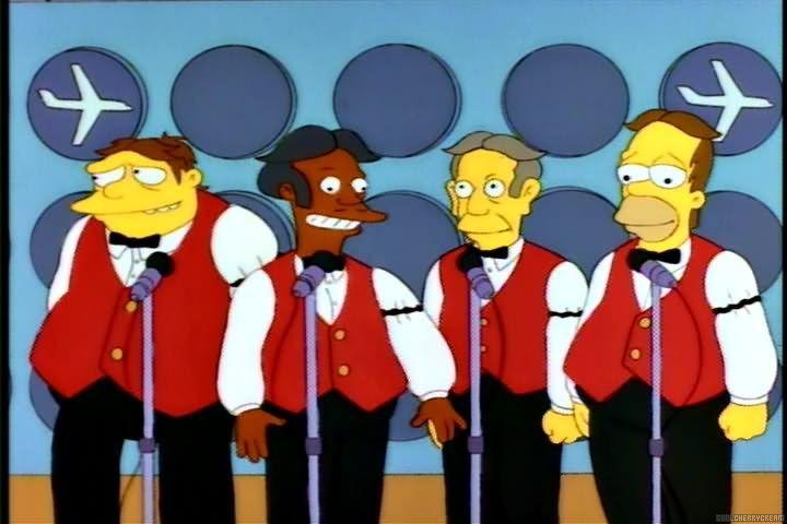 Симпсоны — s05e01 — Homer's Barbershop Quartet