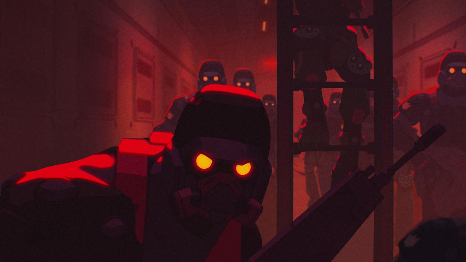 Любовь, смерть и роботы — s01e15 — Blindspot