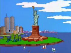 Симпсоны — s09e01 — The City of New York vs. Homer Simpson