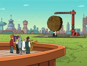 Futurama — s01e08 — A Big Piece of Garbage
