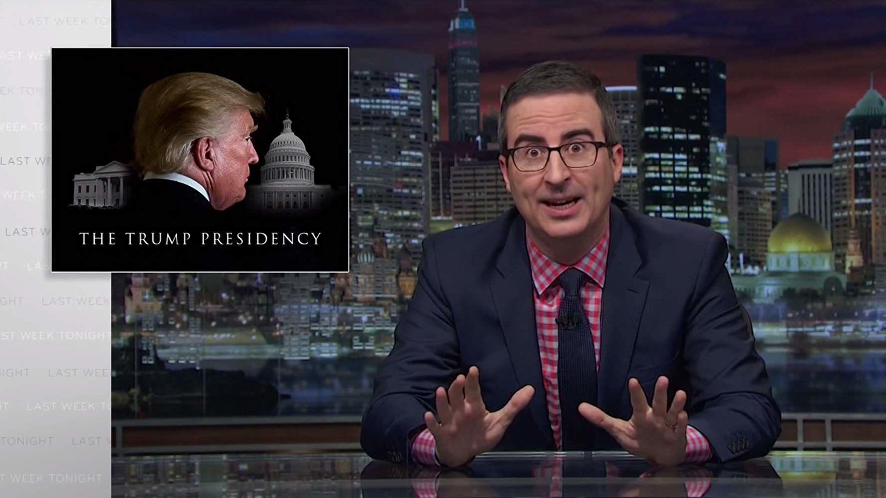 События прошедшей недели с Джоном Оливером — s04e30 — The Trump Presidency