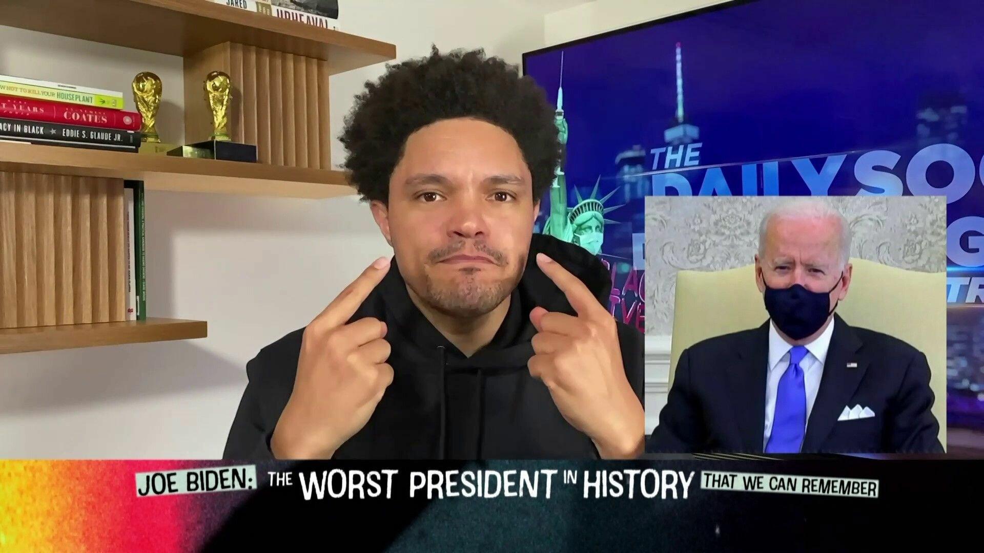 The Daily Show with Trevor Noah — s2021e27 — Michael Kiwanuka