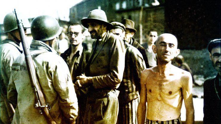 Величайшие события Второй мировой войны — s01e09 — Liberation of Buchenwald