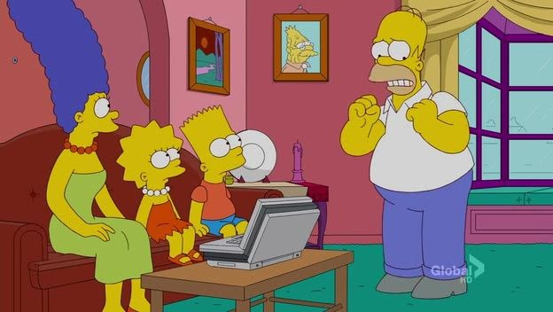 The Simpsons — s23e05 — The Food Wife
