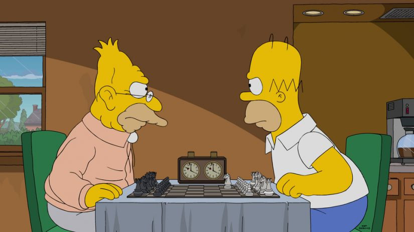 The Simpsons — s28e15 — The Cad and the Hat