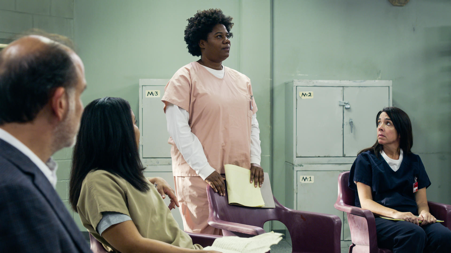Orange Is the New Black — s07e06 — Trapped in an Elevator