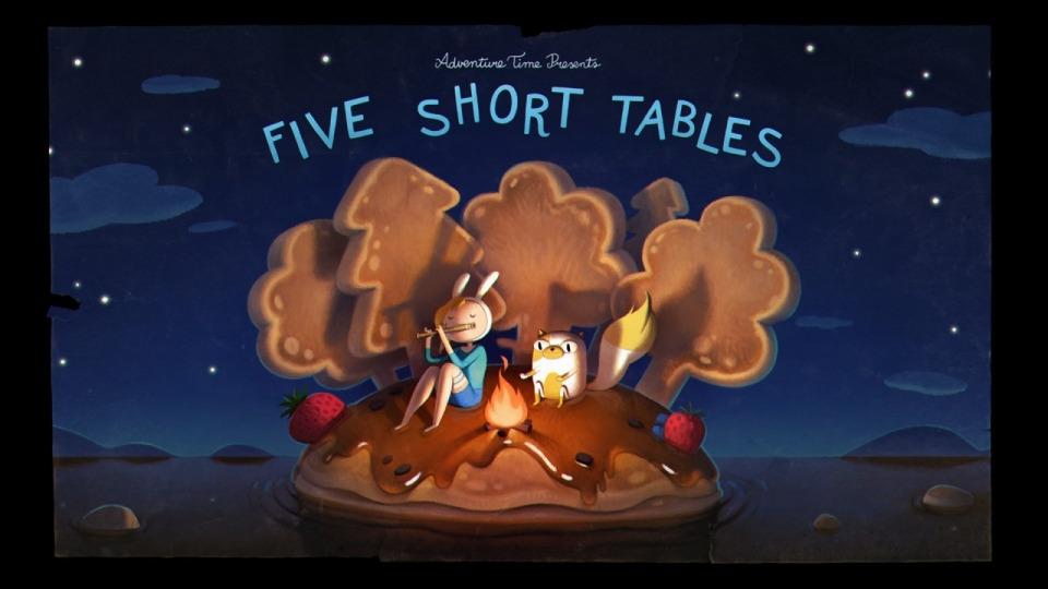 Время приключений — s07e34 — Five Short Tables