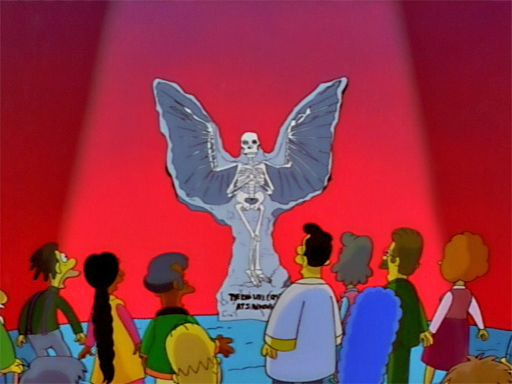 The Simpsons — s09e08 — Lisa the Skeptic