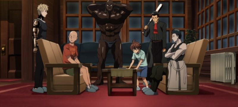 One-Punch Man — s02 special-7 — The Zombieman Murder Case 2 A Chalet Amid the Blizzard, and the Ones Bothered by the Cold