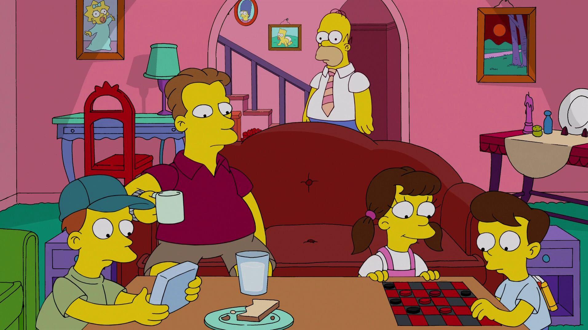 The Simpsons — s25e08 — White Christmas Blues