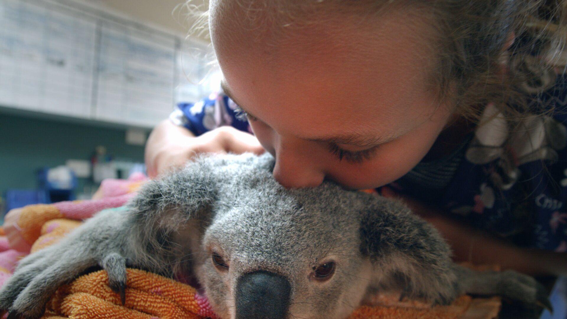 Иззи и коалы — s01e04 — Muffin Moves In