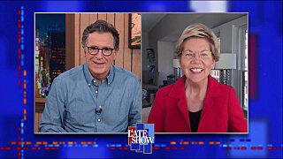 The Late Show with Stephen Colbert — s2021e66 — Senator Elizabeth Warren, David Boreanaz