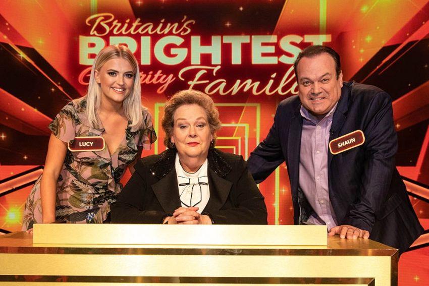 Britain's Brightest Celebrity Family — s01e01 — Shaun Williamson vs Lucy Fallon