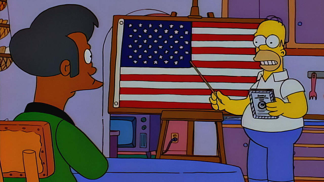 Симпсоны — s07e23 — Much Apu About Nothing