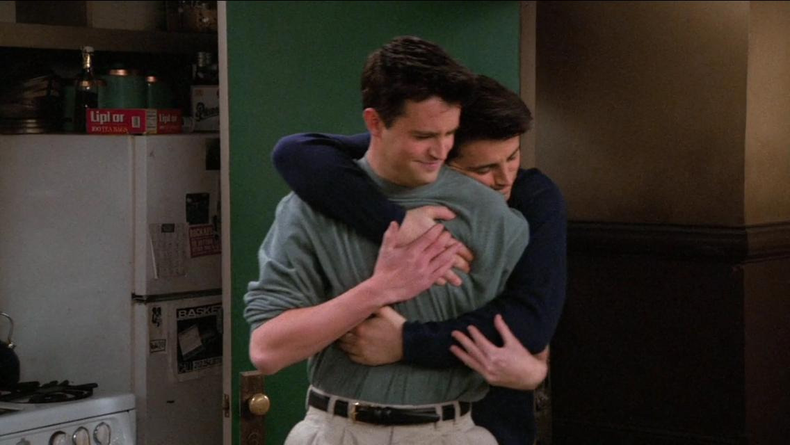Друзья — s02e16 — The One Where Joey Moves Out
