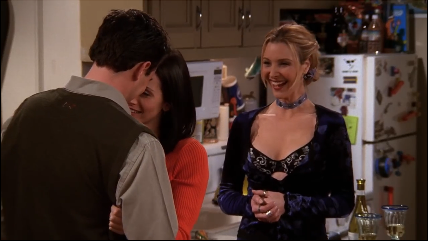 Friends — s05e14 — The One Where Everybody Finds Out