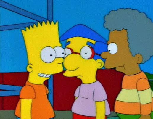 The Simpsons — s06e07 — Bart's Girlfriend
