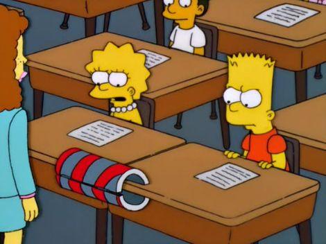 The Simpsons — s14e03 — Bart vs. Lisa vs. 3rd Grade