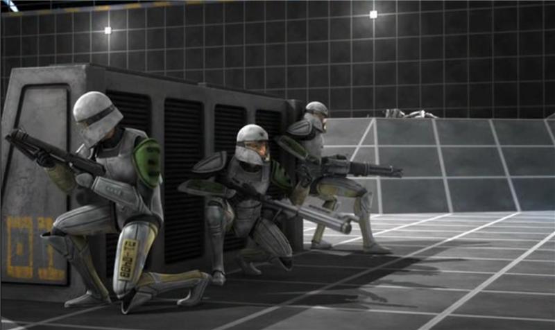 Звездные войны: Войны клонов — s03e01 — Clone Cadets