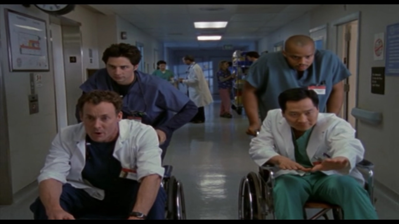Scrubs — s01e20 — My Way or the Highway
