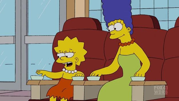 The Simpsons — s20e20 — Four Great Women and a Manicure