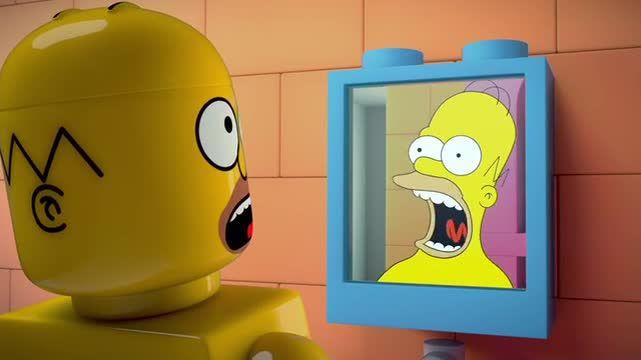 The Simpsons — s25e20 — Brick Like Me