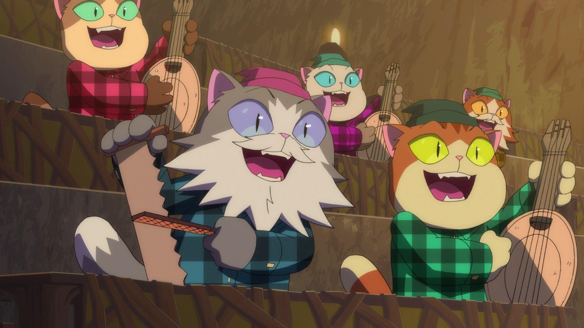 Кипо и эра чудесных зверей — s01e03 — Real Cats Wear Plaid