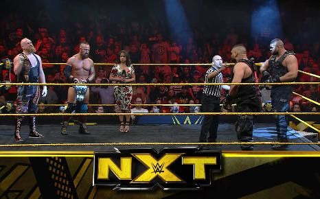 WWE NXT — s11e44 — Main Event: Authors of Pain vs. SAnitY for the NXT Tag Team Championships