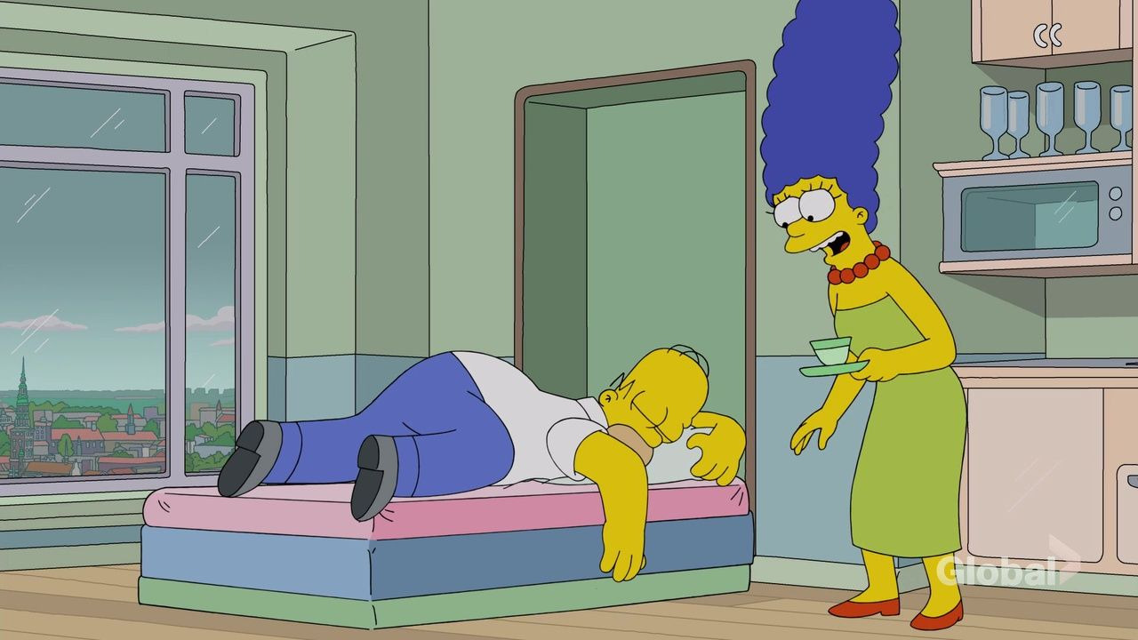 The Simpsons — s29e20 — Throw Grampa from the Dane