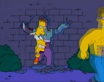 The Simpsons — s15e01 — Treehouse of Horror XIV