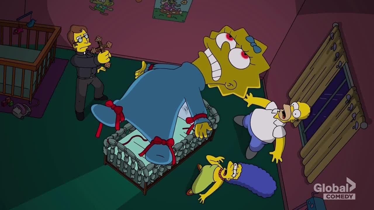 The Simpsons — s29e04 — Treehouse of Horror XXVIII