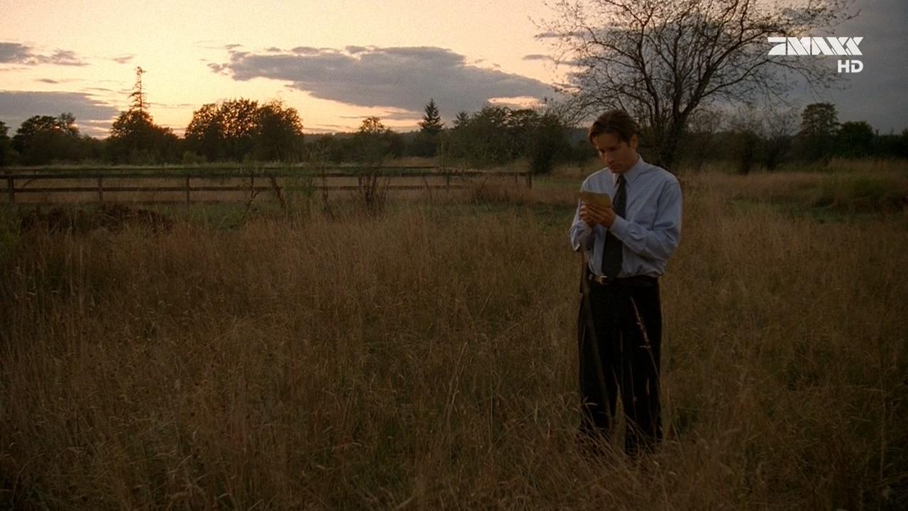 Секретные материалы — s04e05 — The Field Where I Died