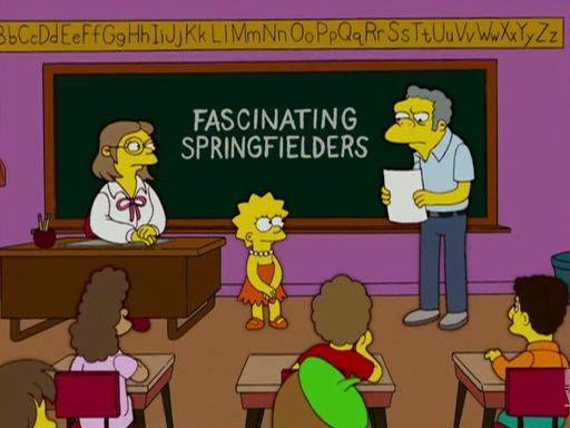 Симпсоны — s18e06 — Moe 'N' a Lisa