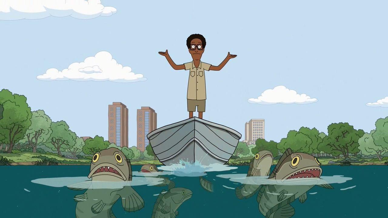 Центральный парк — s01e10 — A Fish Called Snakehead