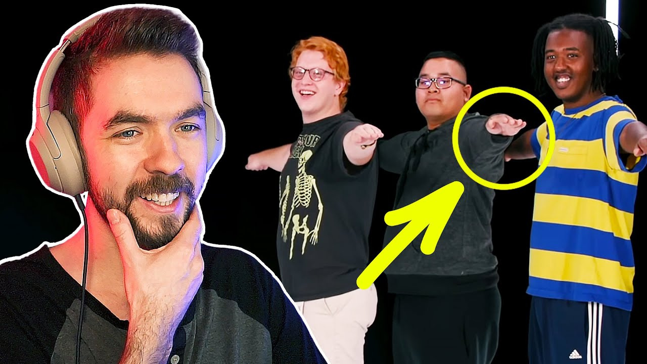 Jacksepticeye — s10e45 — Can You Spot The Fake Gamer?