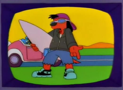 The Simpsons — s08e14 — The Itchy & Scratchy & Poochie Show