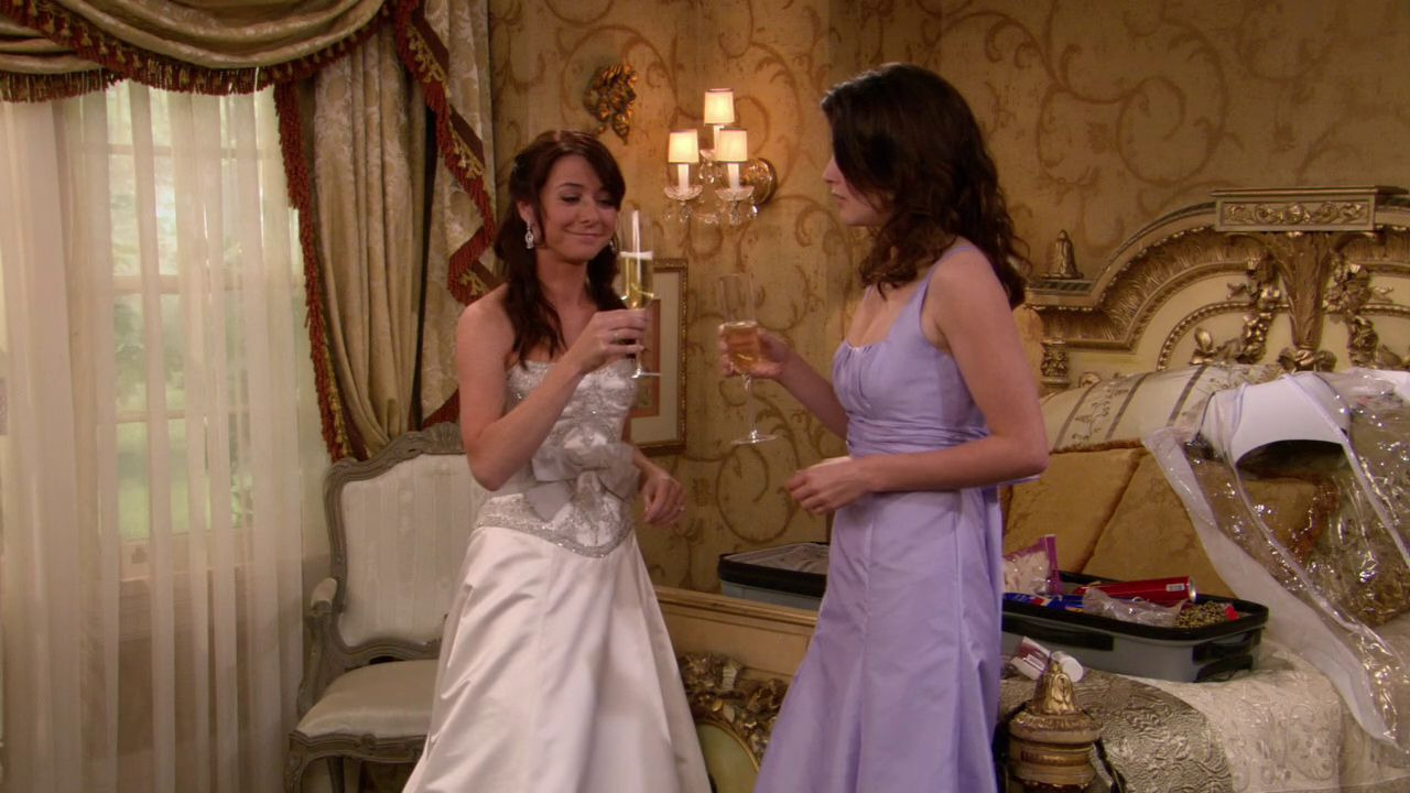 How I Met Your Mother — s02e21 — Something Borrowed